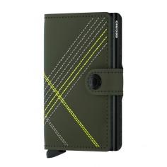 Mini Wallet Stitch Linea Lime